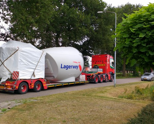 Transport Lagerwey Finland